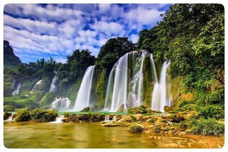 La majestuosa belleza del Geoparque Global Non Nuoc Cao Bang - ảnh 3