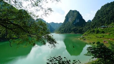 La majestuosa belleza del Geoparque Global Non Nuoc Cao Bang - ảnh 6