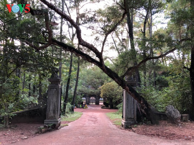 La mística belleza de la pagoda Tu Hieu, en la ciudad de Hue - ảnh 1