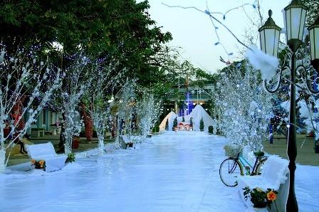 Divertido festival en saludo a la Navidad y el Año nuevo en Hanói - ảnh 1