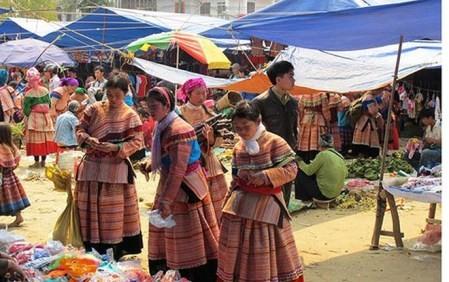 Presentarán mercado de etnias minoritarias de zonas montañosas de Vietnam - ảnh 1