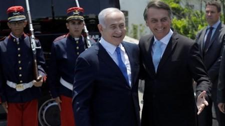 """Israel y Brasil se comprometen a promover una """"nueva alianza estratégica"""" - ảnh 1"""