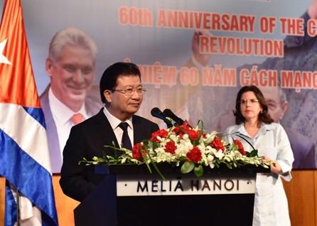 Vietnam y Cuba fortaleceb relaciones - ảnh 1