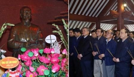 Premier vietnamita rinde tributo al presidente Ho Chi Minh en ocasión del Tet - ảnh 1