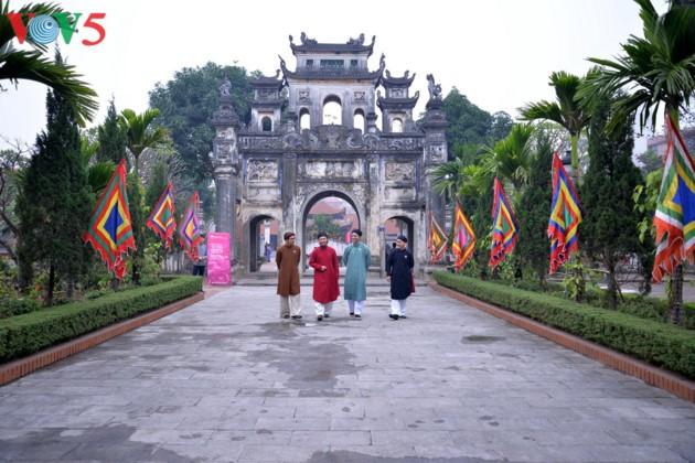 Preservar la belleza tradicional del Tet vietnamita  - ảnh 1