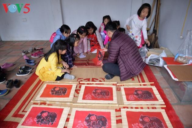 Preservar la belleza tradicional del Tet vietnamita  - ảnh 15