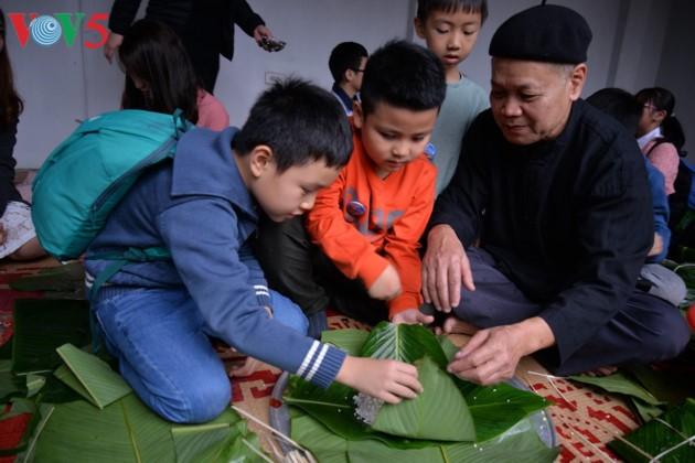 Preservar la belleza tradicional del Tet vietnamita  - ảnh 17