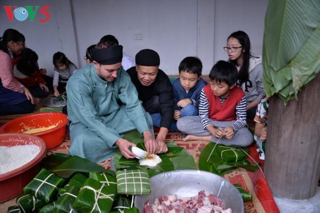 Preservar la belleza tradicional del Tet vietnamita  - ảnh 18