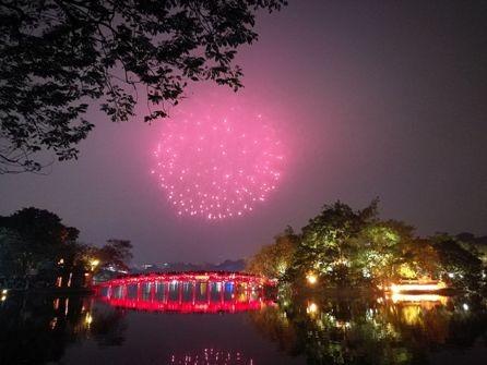 Hanói celebrará el Año Nuevo Lunar con espectáculos pirotécnicos en 30 sitios - ảnh 1