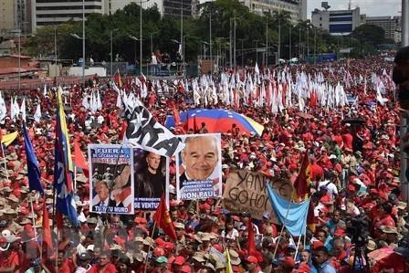 Uruguay y México publican itinerario de diálogo político para situación en Venezuela - ảnh 1