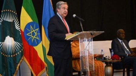 Inauguran 32 Cumbre de la Unión Africana  - ảnh 1