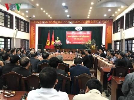 Celebran primera reunión de la prensa vietnamita en Nuevo Año Lunar  - ảnh 1