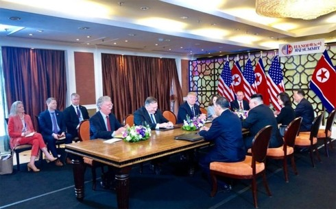 Donald Trump y Kim Jong-un en Hanói: momentos notables - ảnh 12