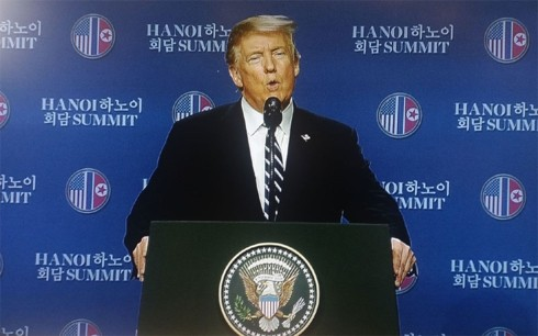 Donald Trump y Kim Jong-un en Hanói: momentos notables - ảnh 15