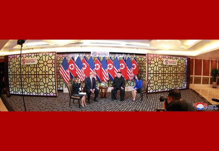 Donald Trump y Kim Jong-un en Hanói: momentos notables - ảnh 3