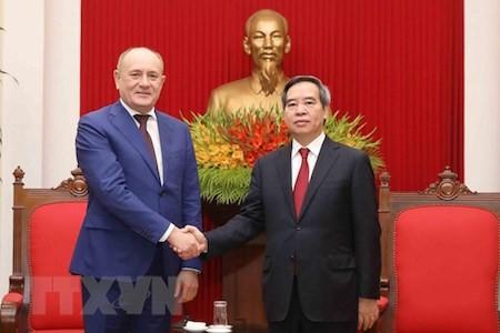 Vietnam destaca el aporte de Gazprom a sus relaciones con Rusia - ảnh 1