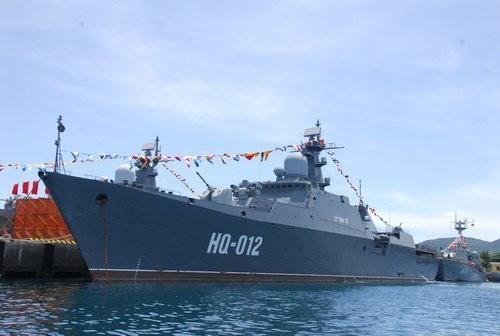 Fragata de Vietnam llega a Malasia para exposición internacional - ảnh 1