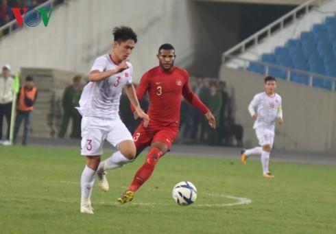 Vietnam vence a Indonesia en un tenso partido de campeonato asiático sub 23 - ảnh 1