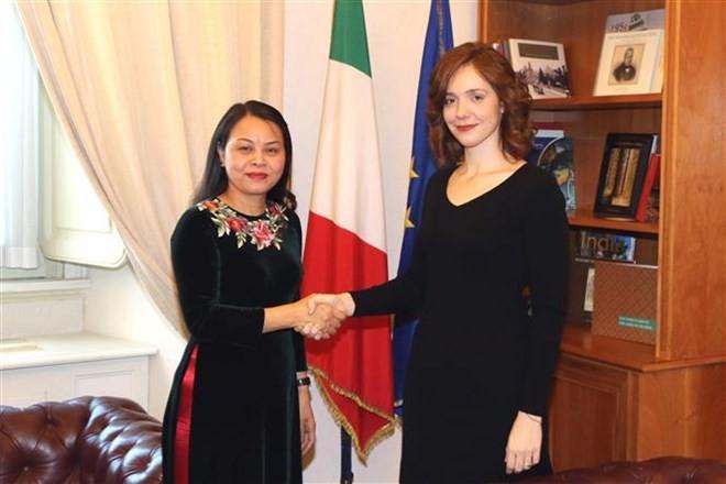 Vietnam e Italia intercambian experiencias sobre igualdad de género - ảnh 1