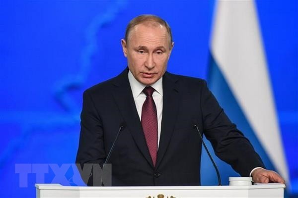 Base militar rusa en Kirguistán es un factor importante para la seguridad estable en Asia Central, dice Putin - ảnh 1