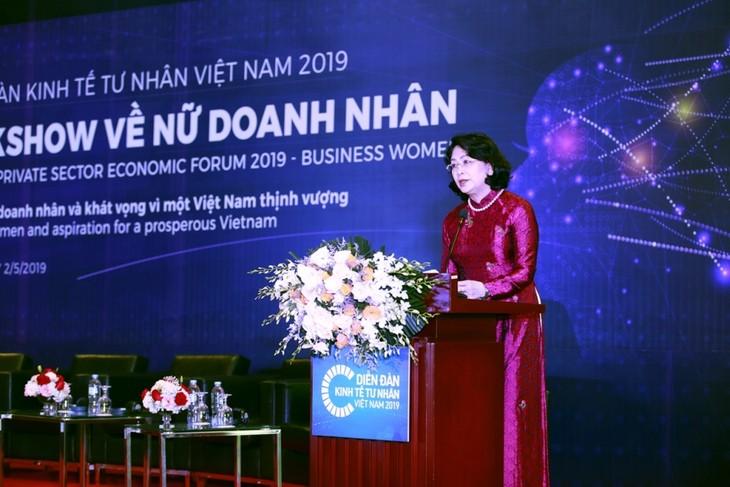 Aspiraciones de empresarias por un Vietnam próspero  - ảnh 1
