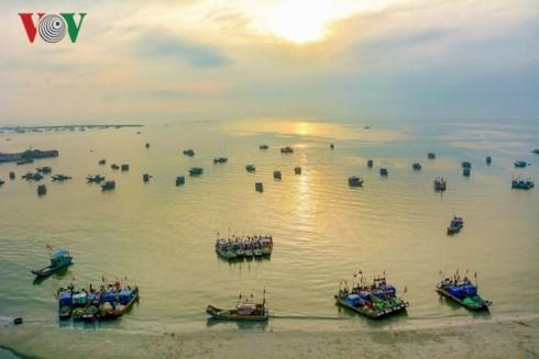 La isla de Co To - perla azul en el Golfo de Tonkín - ảnh 1