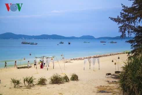 La isla de Co To - perla azul en el Golfo de Tonkín - ảnh 4