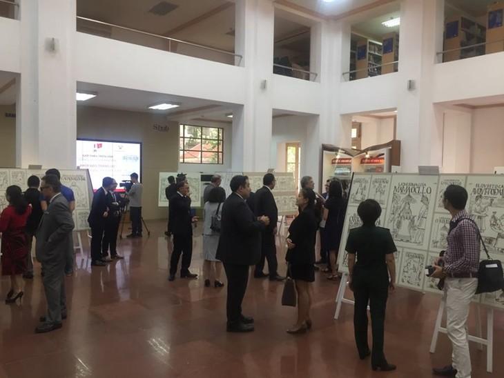 """Inauguran en Hanói exhibición peruana """"El comienzo de una de la historia"""" - ảnh 1"""