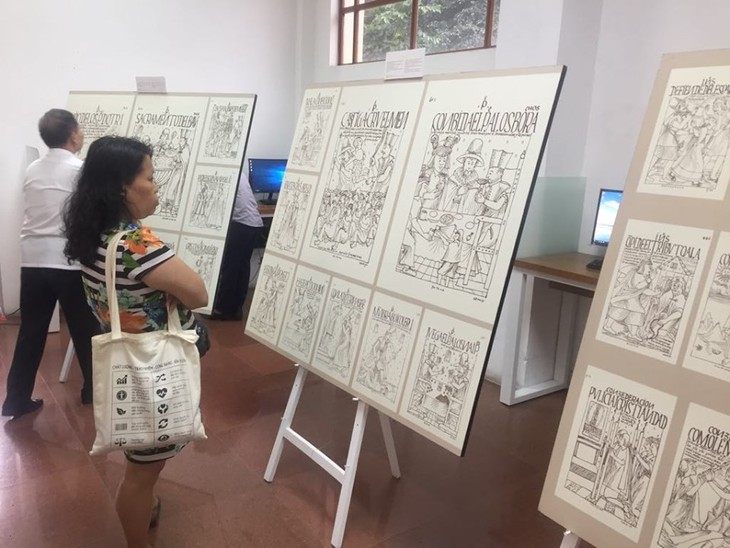 """Inauguran en Hanói exhibición peruana """"El comienzo de una de la historia"""" - ảnh 2"""