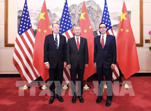 Estados Unidos y China concluyen primer día de negociaciones comerciales - ảnh 1