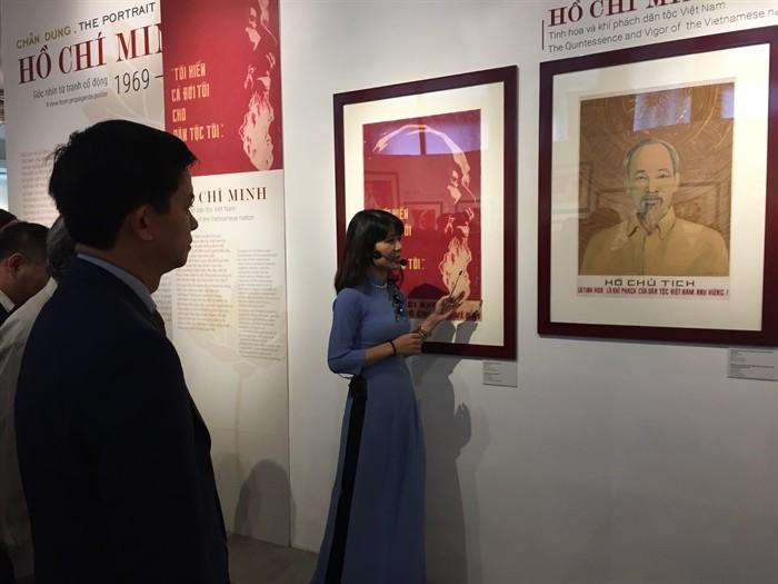 Inauguran exposición sobre el presidente Ho Chi Minh - ảnh 1