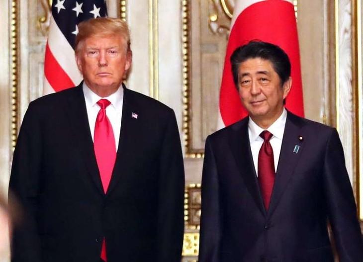 Realizan primeras conversaciones Japón-Estados Unidos en la era Reiwa   - ảnh 1