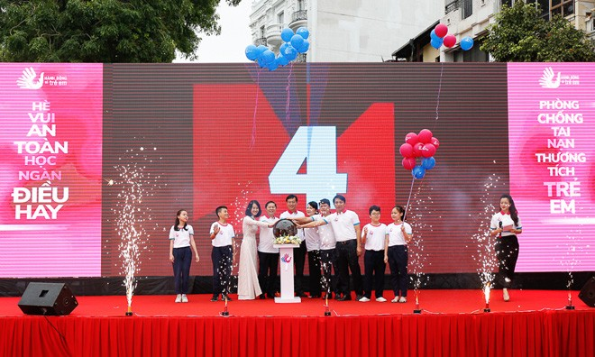 """Lanzan en Hanói programa """"Actuar para niños""""  - ảnh 1"""