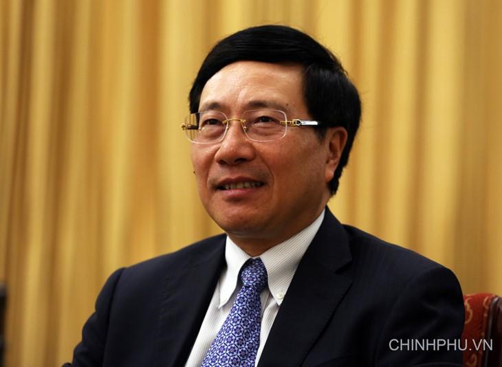Vietnam desea promover el multilateralismo, afirma canciller Pham Binh Minh - ảnh 1