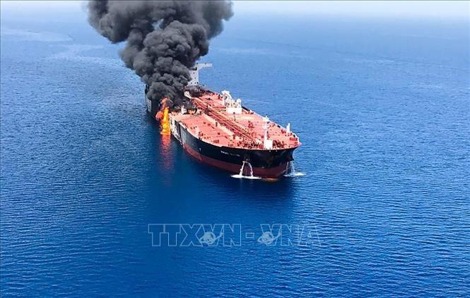 Japón pide pruebas de Estados Unidos sobre ataques en estrecho de Ormuz - ảnh 1
