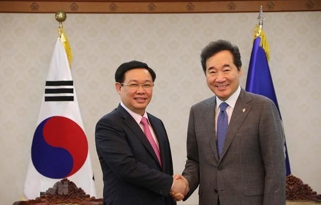 Vietnam y Corea del Sur estrechan vínculos - ảnh 1