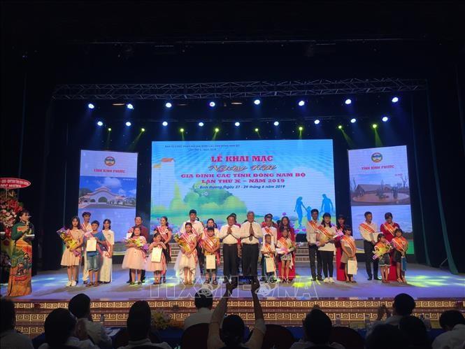 Inauguran Festival de la Familia de las provincias en la región suroriental de Vietnam - ảnh 1