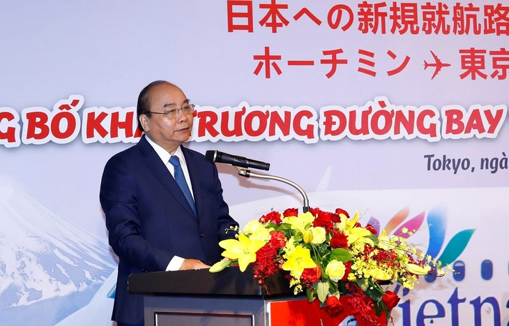 Anuncian dos nuevas rutas aéreas de Vietnam a Japón - ảnh 1