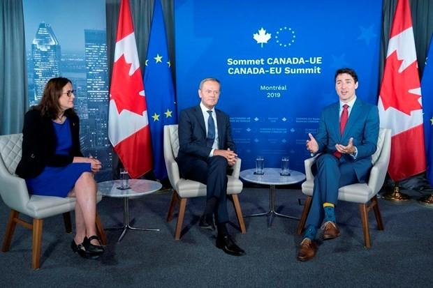 Unión Europea y Canadá refuerzan lazos - ảnh 1