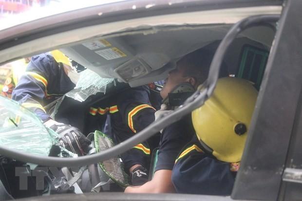 Vietnam participa en competencia internacional de rescate en Malasia - ảnh 1
