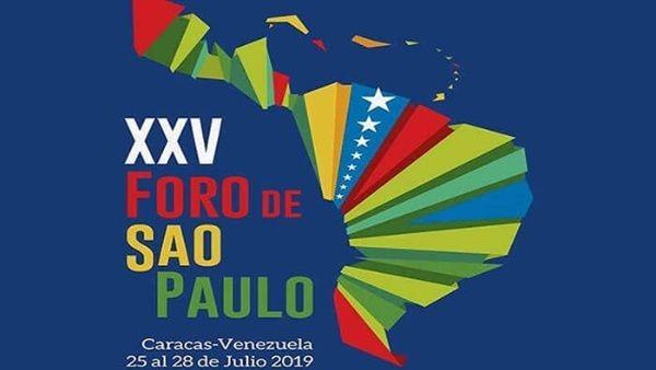 Celebran en Venezuela el XXV Foro de Sao Paulo - ảnh 1