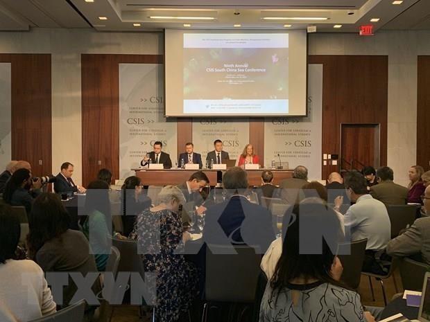 Expertos internacionales rechazan actividades de China en aguas vietnamitas - ảnh 1