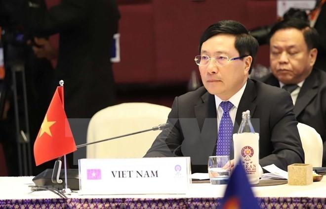 Vietnam promete trabajar para ampliar los lazos entre la Asean y sus socios - ảnh 1