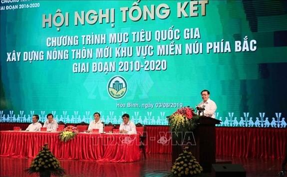 Evalúan la construcción del nuevo campo en las zonas montañosas del norte - ảnh 1