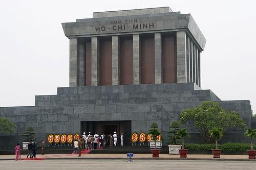 越南语讲座:胡志明主席陵相关词汇 - ảnh 1