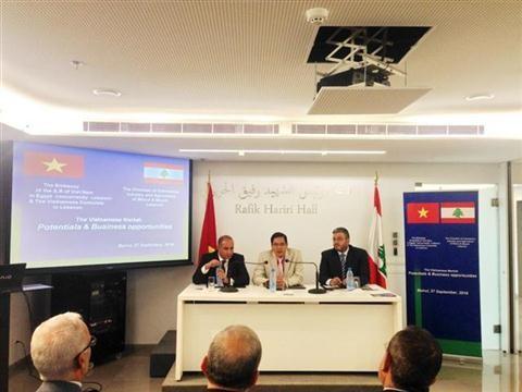 黎巴嫩希望推动与越南的营商合作 - ảnh 1