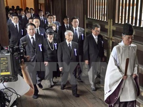中国和韩国反对日本领导人参拜靖国神社 - ảnh 1