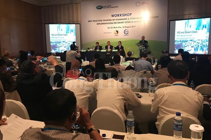 APEC第三次高官会的相关会议举行 - ảnh 1