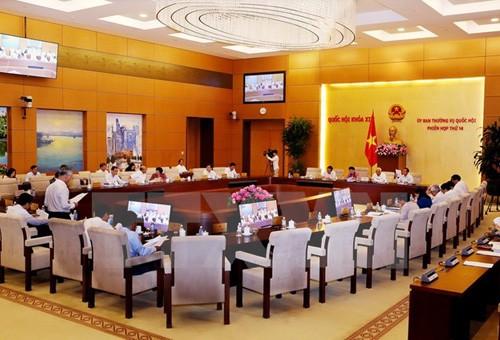 越南国会常委会向2017年投诉举报解决工作报告提供意见 - ảnh 1