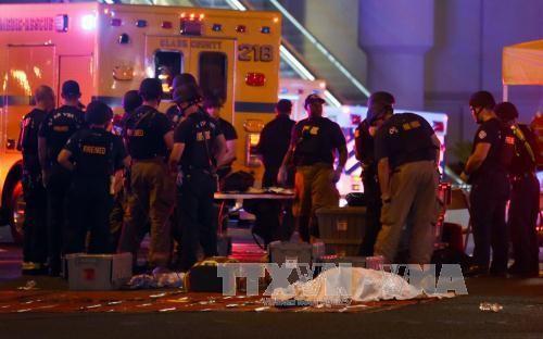 拉斯维加斯枪击案死伤人数升至近580人 - ảnh 1